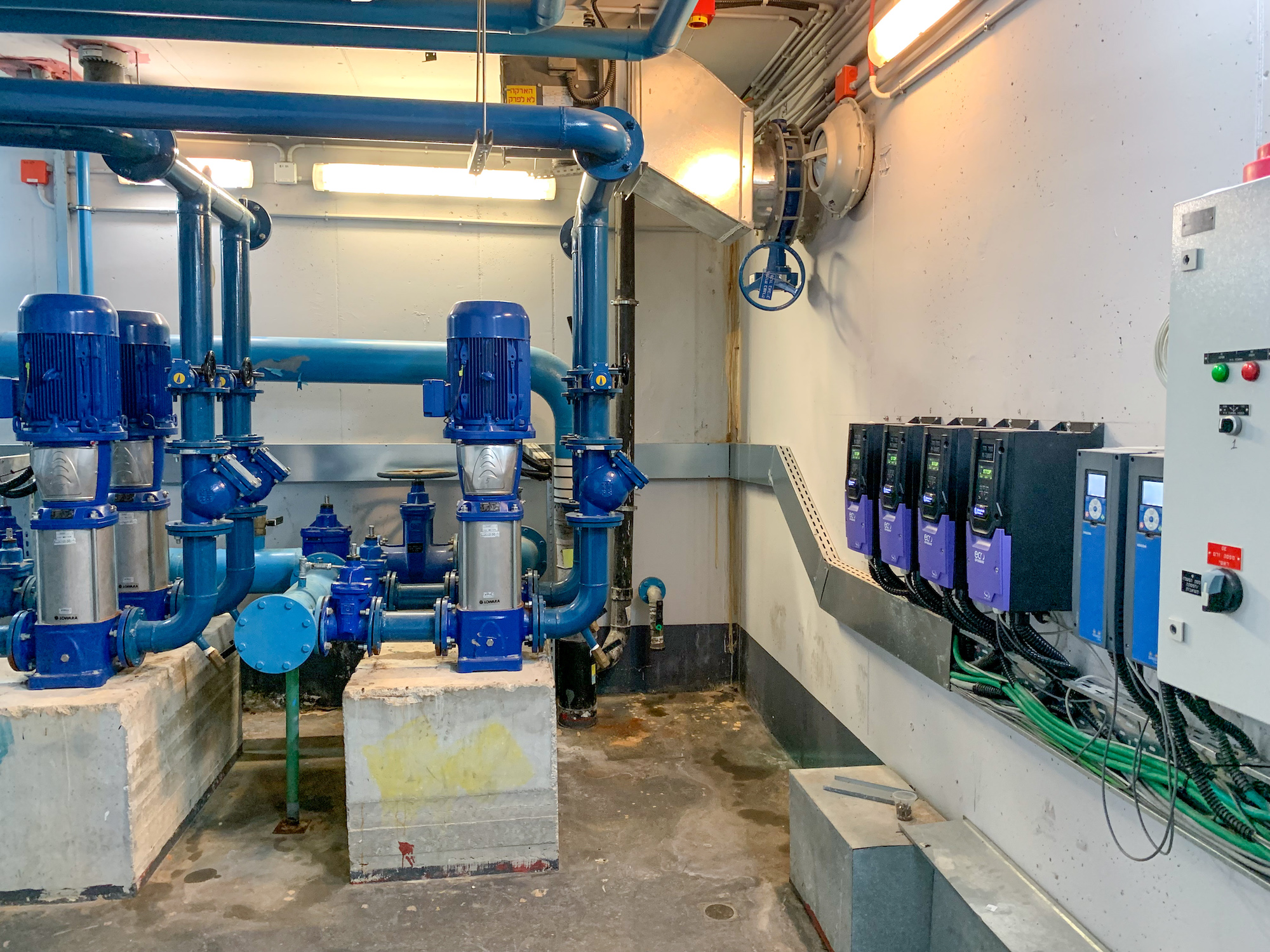 Hospital's water supply is optimised with Optidrive Eco