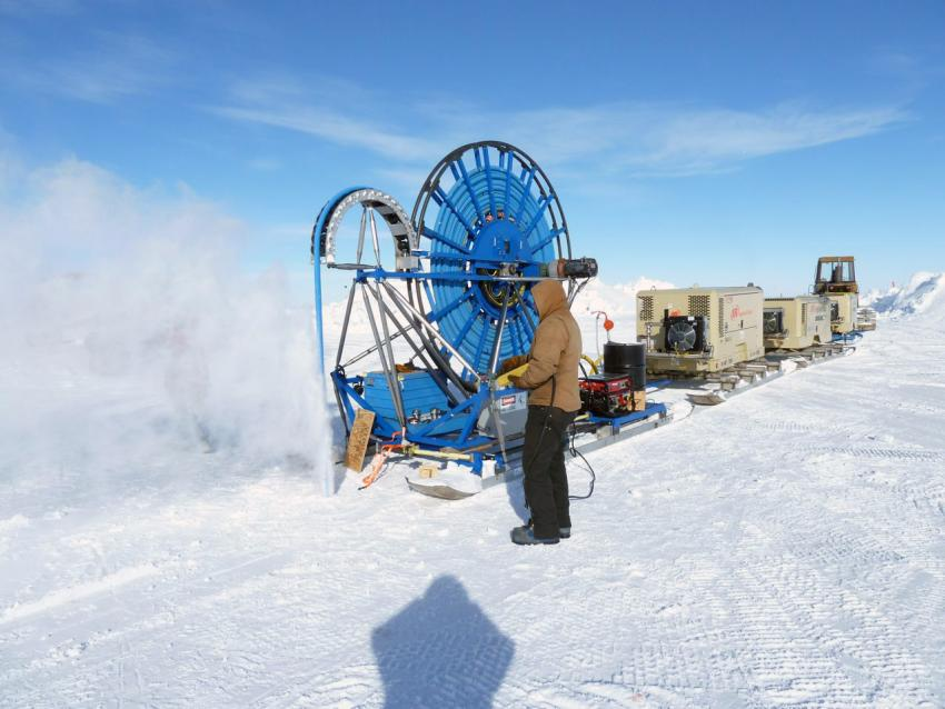 Optidrive helps scientists research work in harsh Antarctic conditions